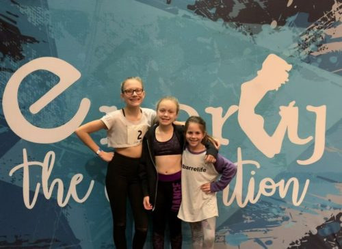 India Boehm, Gracie Lou VandeRyt, and Leah Chupka had the opportunity to take classes from professional dancers and choreographers from New York and LA in jazz, tap, contemporary, musical theater and hip hop.   Great job, girls!